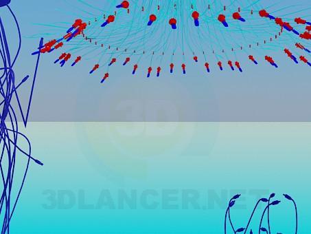 modelo 3D Lámparas de alambre - escuchar