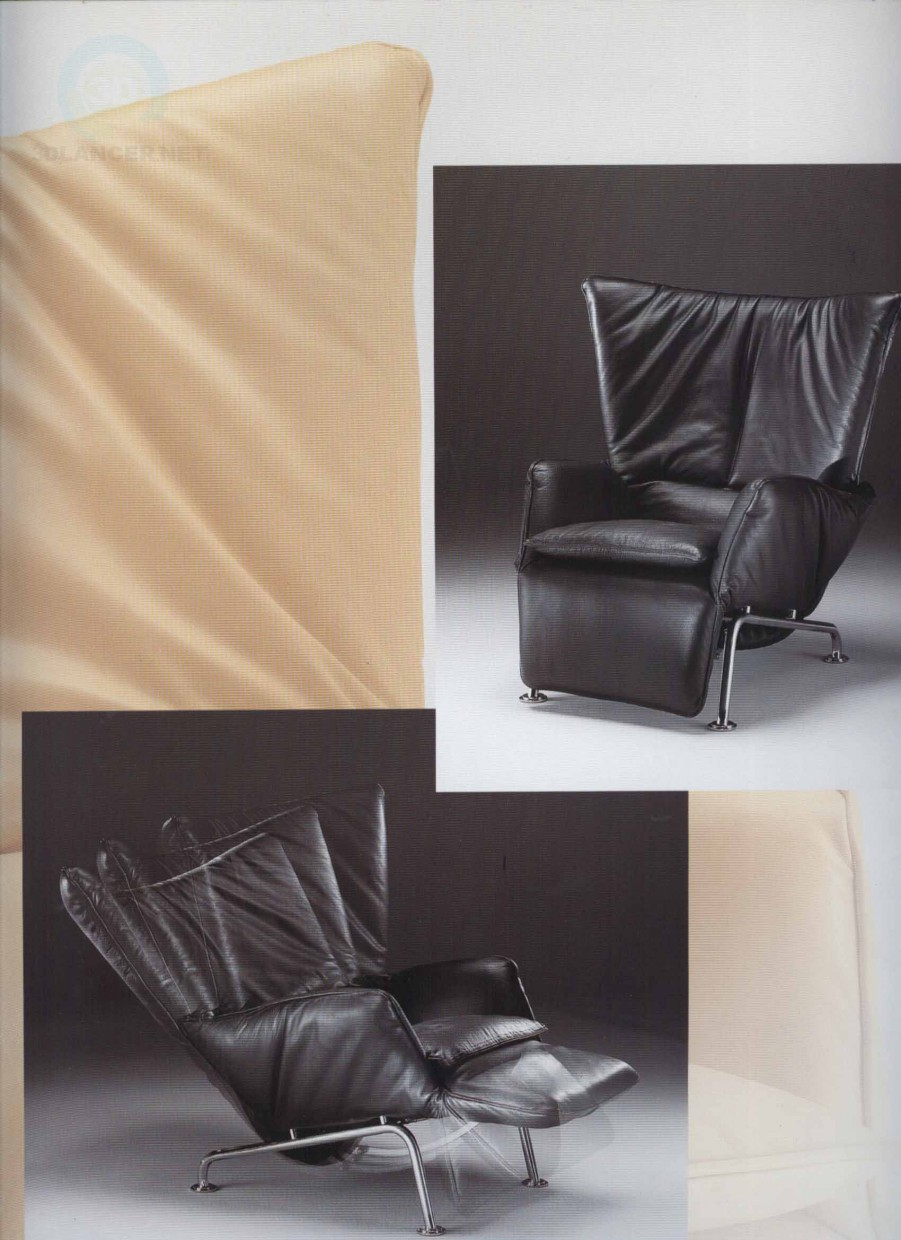 3d model Lounge chair - preview