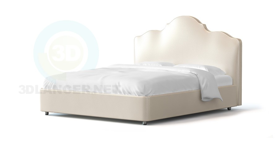 3d model Bed Dula - preview