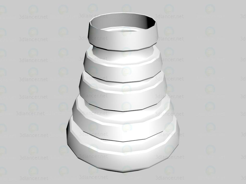 3d model Vase Subus - preview