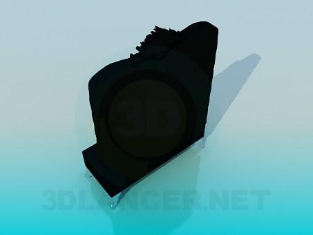 modelo 3D Silla en la pared - escuchar