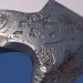 3d Medieval ax Low-poly 3D model model buy - render