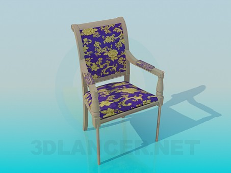 3d model Silla - vista previa