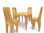 A set of furniture