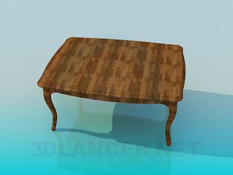 3d модель Стол обеденный – превью