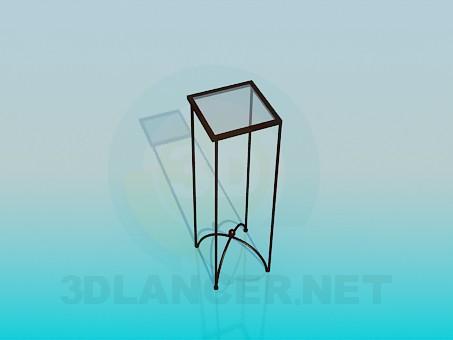 3d модель Подставка для вазона – превью