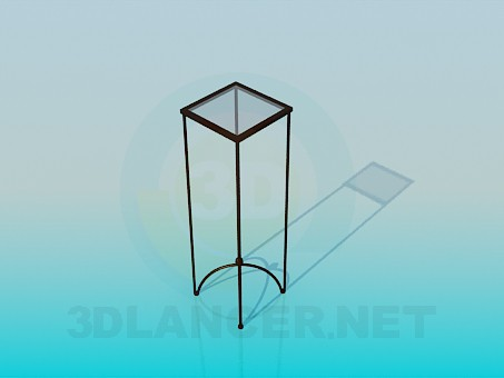 3d model Stand for flowerpot - preview