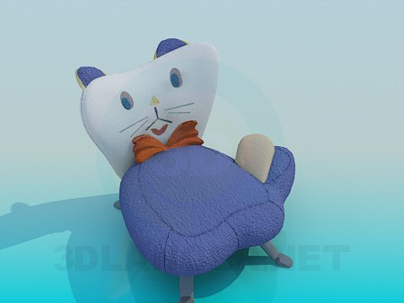 3d model Chair in the nursery - Cat - preview