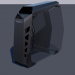 3d PC computer Cougar conquer Low-poly 3D model model buy - render