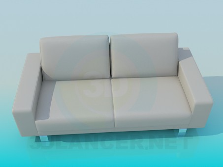3d model Sofa in minimalism style - preview