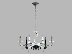 Chandelier MD102903-6A Venezia, 6 set, chrome