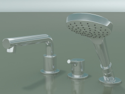 Single-lever bath mixer (72416000)