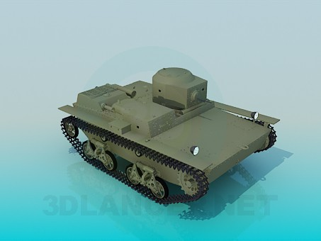3d model T-38 - preview