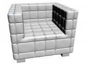 Кресло Shining Cube White