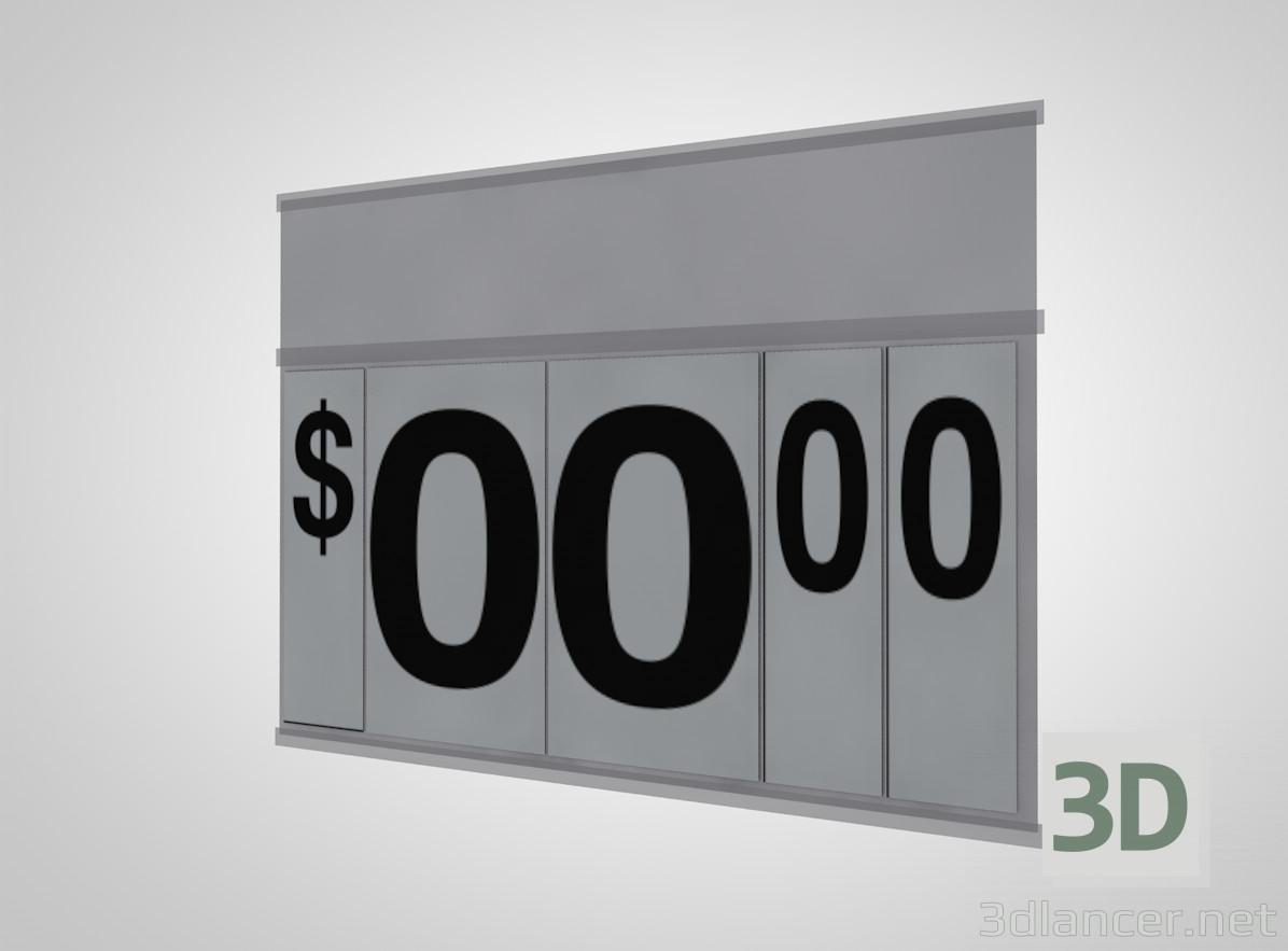 3d моделювання Ціна фліппера модель завантажити безкоштовно