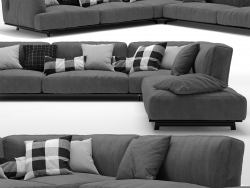 Sofa Tribeca von Poliform