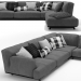 3d sofa Tribeca By Poliform model buy - render