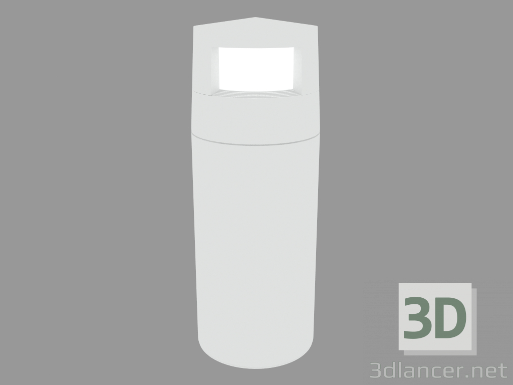 Modelo 3d Lâmpada Post REEF BOLLARD 2x90 ° (S5257W) - preview