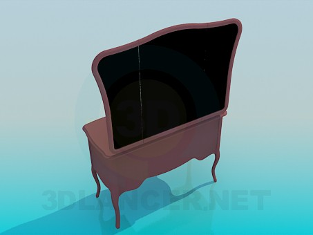 3d model Floor Mirror - preview