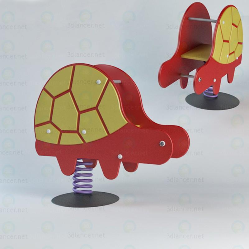 modèle 3D Teeter - preview