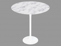 Coffee table with marble counter top Tulip