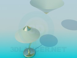 Настільна лампа і і світильник у наборі