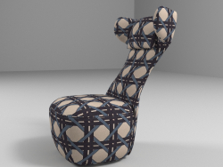 Chaise Freistil x Collection Dawid Tomaszewski. Rolf Benz.