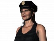 Isobel a cop