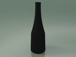 InOut Decorative Bottle (91, Anthracite Gray Ceramic)