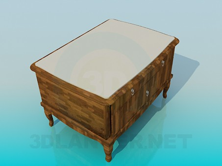 3d modeling Cupboard-ottoman model free download