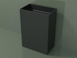 Floor-standing washbasin (03UN36101, Deep Nocturne C38, L 60, P 36, H 85 cm)