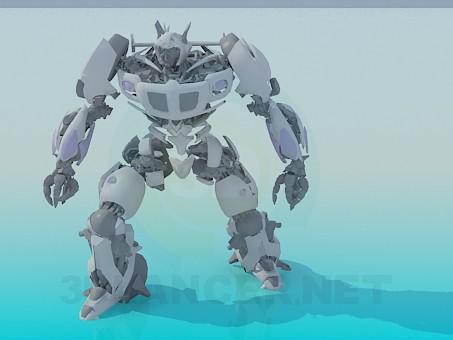 3d модель Трансформер – превью
