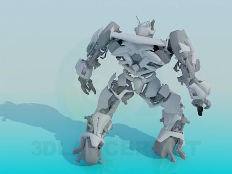 modelo 3D Transformador - escuchar