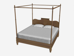 Four-poster bed 907K