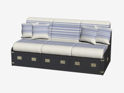 Sofa in a marine style (item 1032)