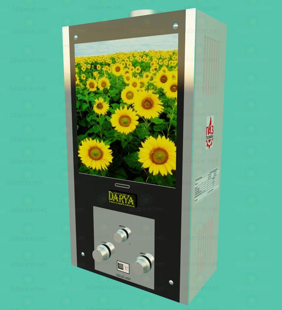3 डी वॉटर हीटर दरिया मॉडल खरीद - रेंडर