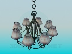Chandelier in 8 shades