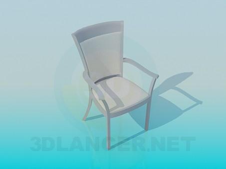 3d моделирование Стул модель скачать бесплатно