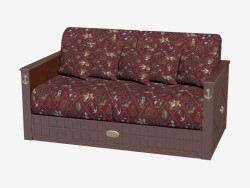 Sofa in a marine style (item 1037)