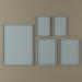 3d model Framed paintings - preview