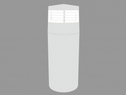 Postlight REEF BOLLARD WITH GRILL (S5292)