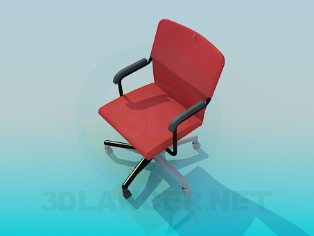 3d model Office chair - preview