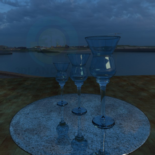 3d model Stemware - preview