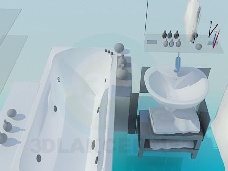 3d модель Ванная комната – превью