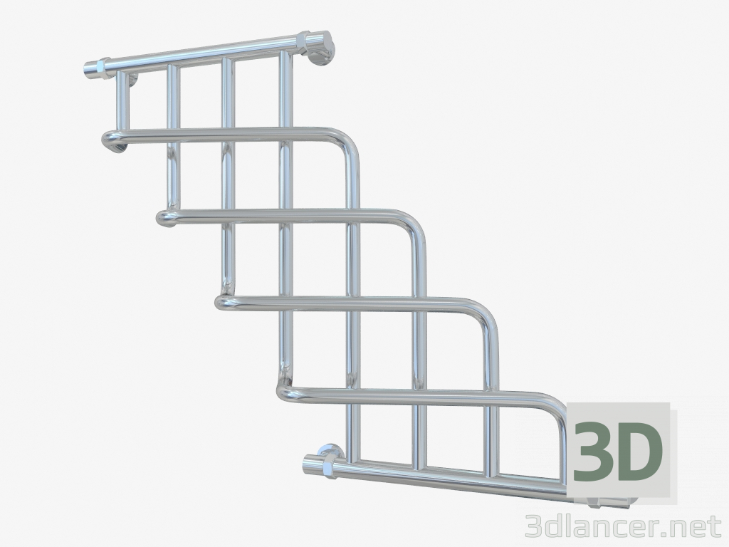 3d model Radiator Cascade (740x1000) - preview