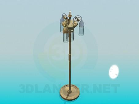 3d model Lámpara de pie - vista previa