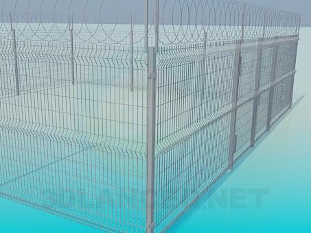 3d model Lattice fence, 3ds, - Free Download | 3dlancer net