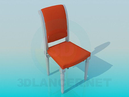 3d modeling Chair with carved legs model free download