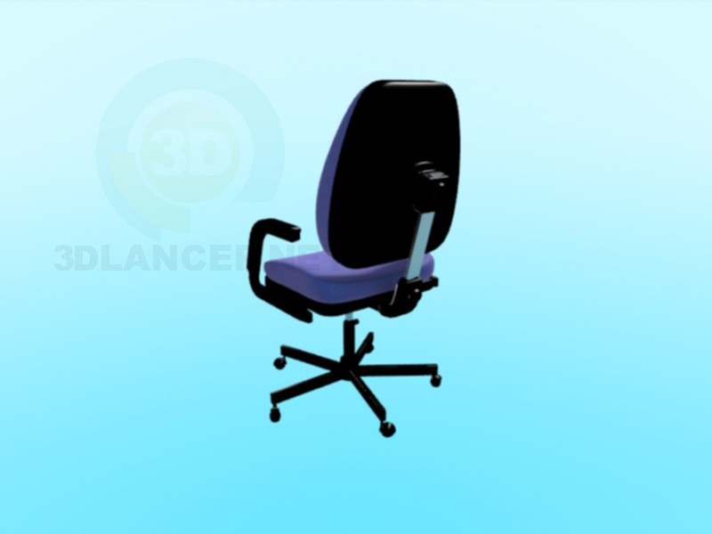 3d modeling computer chair model free download