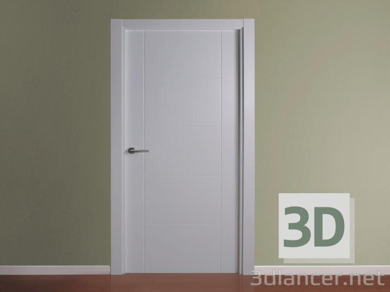 Modelo 3d Porta - preview